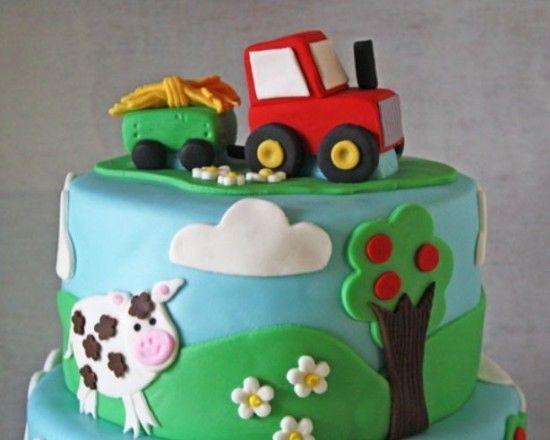 Pin Von Olga Plehova Auf Crafty Stuff Traktor Kuchen Traktor Geburtstagskuchen Geburtstagskuchen Fur Jungen
