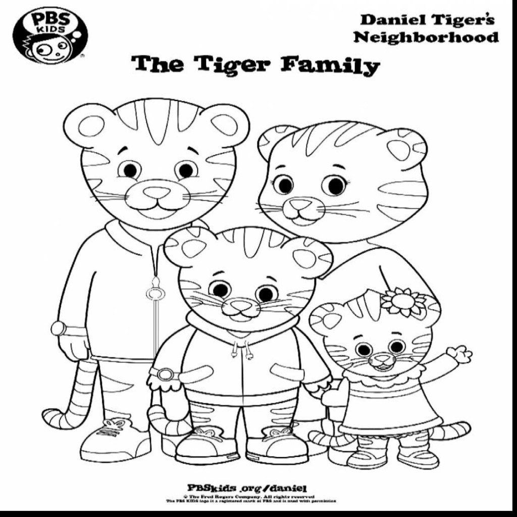 Daniel Tiger Coloring Pages Best Coloring Pages For Kids In 2020 Daniel Tiger Birthday Party Tiger Birthday Party Tiger Birthday