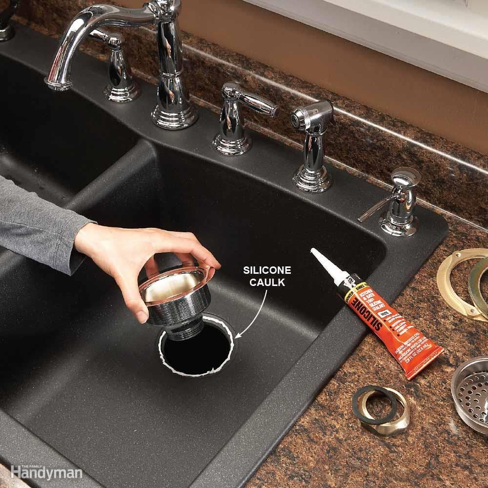 Caulk Or Plumbers Putty For Kitchen Sink
