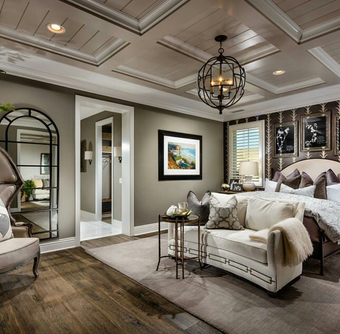 Best Coffered Ceiling In Master Is A Nice Touch Luxury 400 x 300