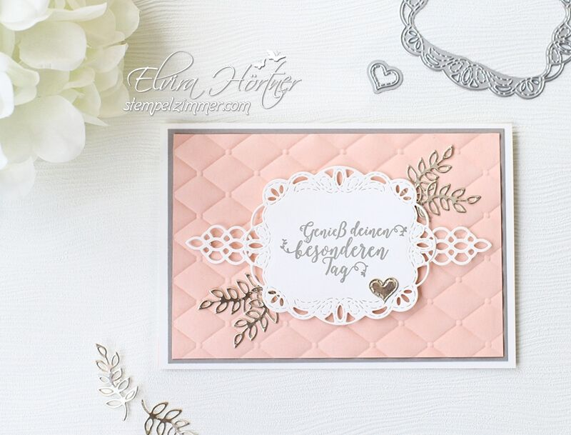 Geburtstagskarte mit bestickten Grüßen | Meine Karten - Stampin\' Up ...