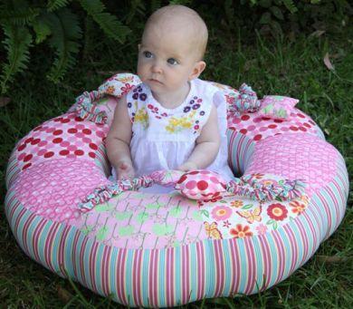 Sit Me Up Donut Pink Kit Paula Storm Baby Cushion Kit