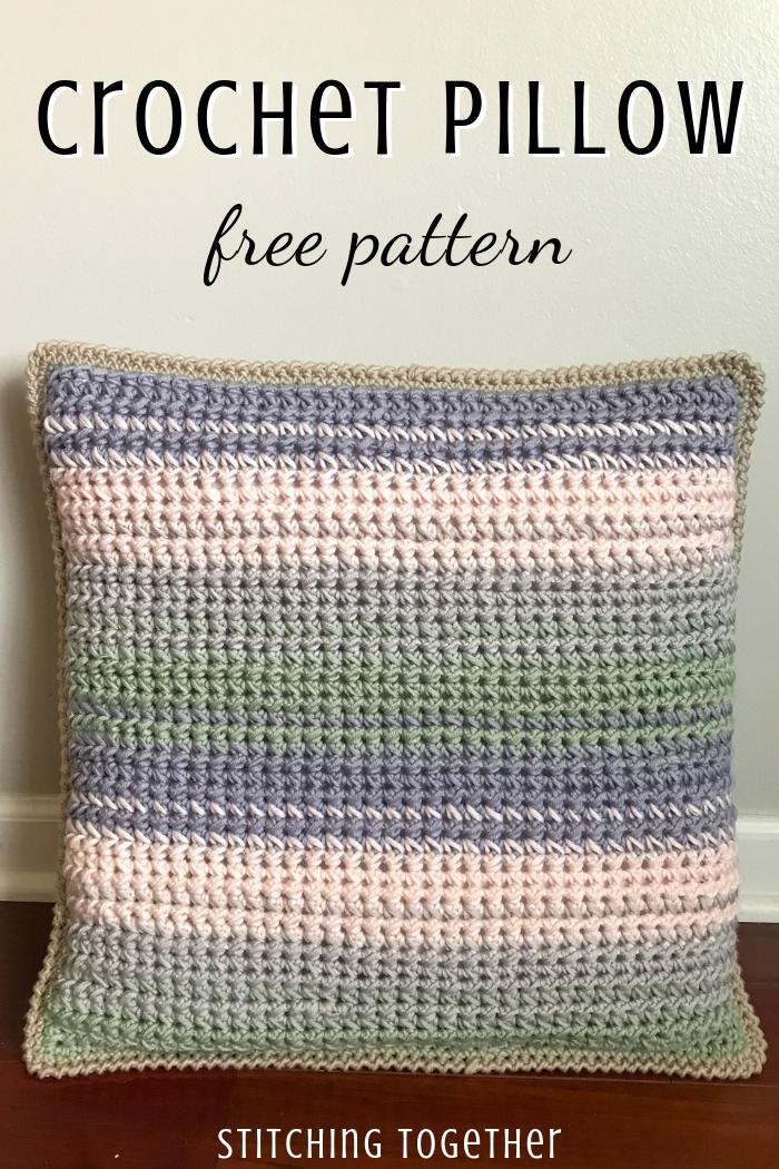 Spring Blooms Crochet Throw Pillow Pattern Stitching Together Crochet Pillow Patterns Free Crochet Pillow Pattern Crochet Pillow Cover