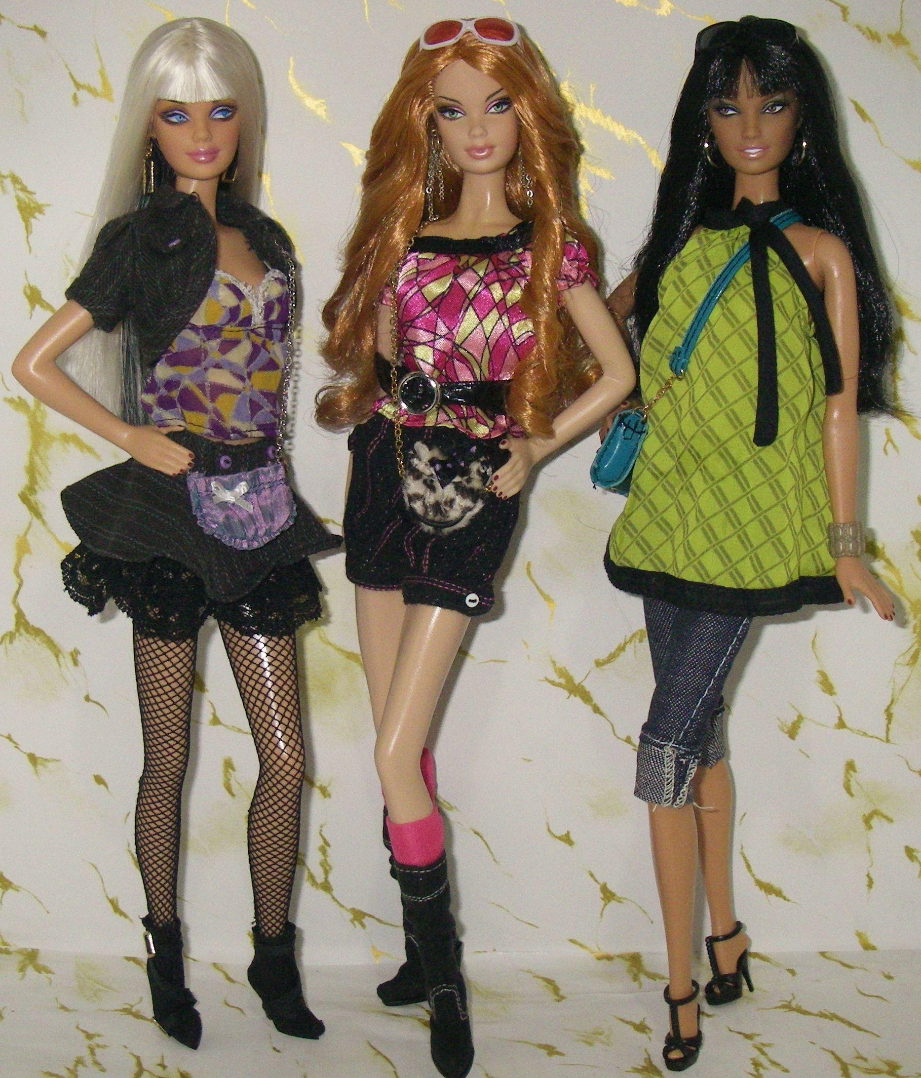 Barbie Top Model Roupas Roupas De Boneca Bonecas