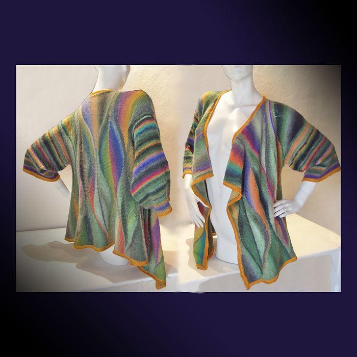 Selva pattern by Nadita Swings   Stricken, Jacken und Muster