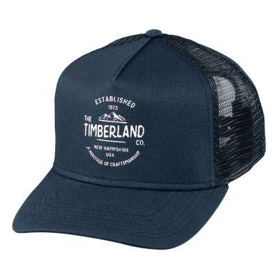 Timberland | Mesh Graphic Trucker Cap | Cap, Baseball hats