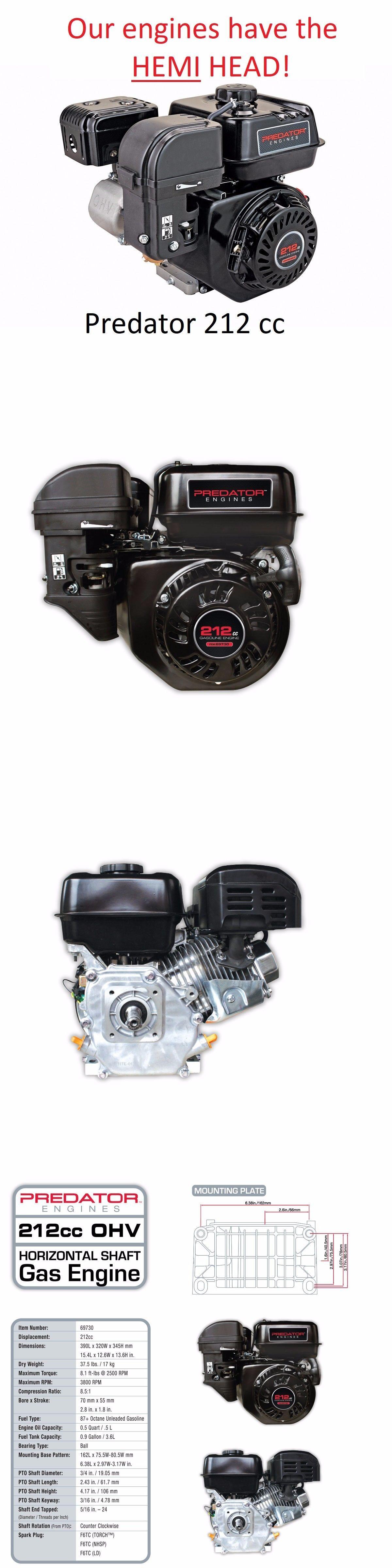 Predator 212 Hemi Compression Ratio