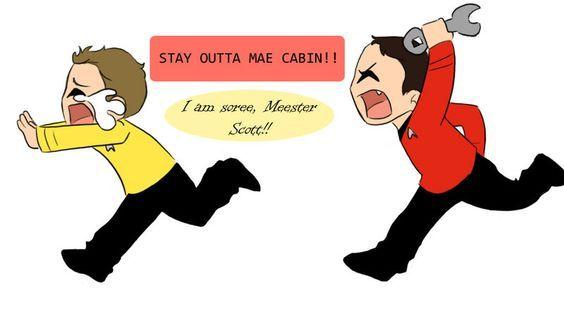 poor Chekov <3 hahaha