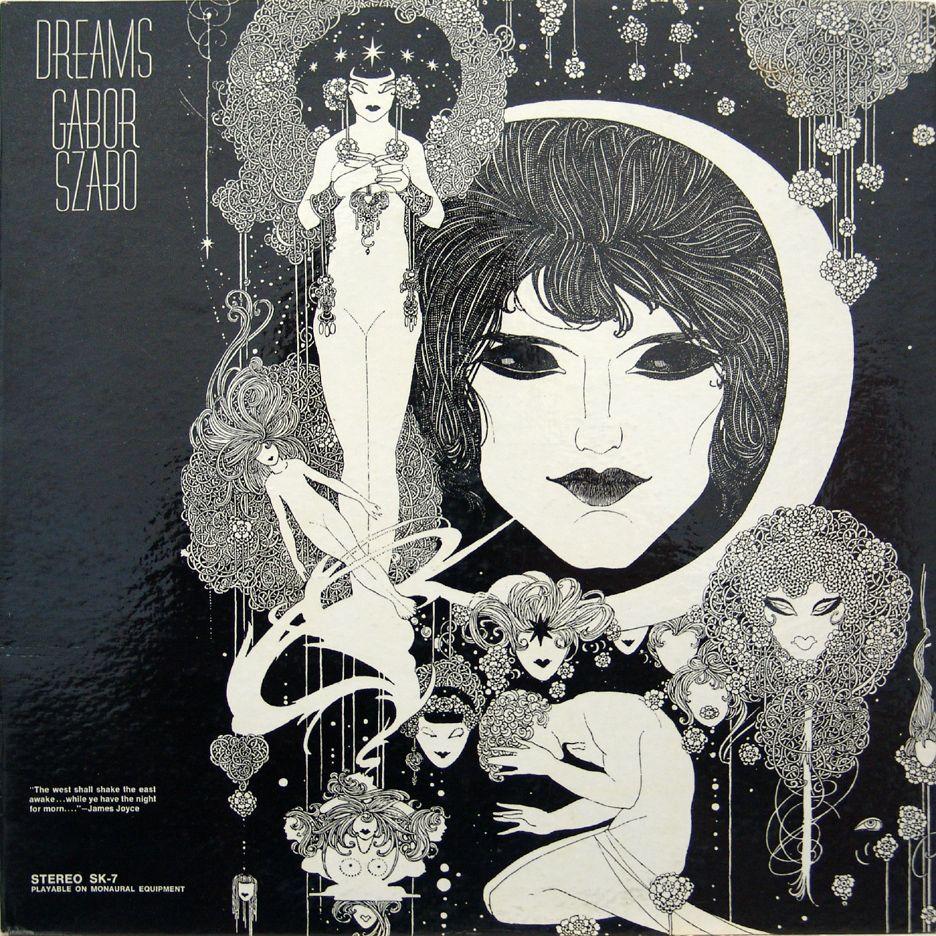 Gabor Szabo Dreams 1968 Album Cover Art Album Art Cover Art