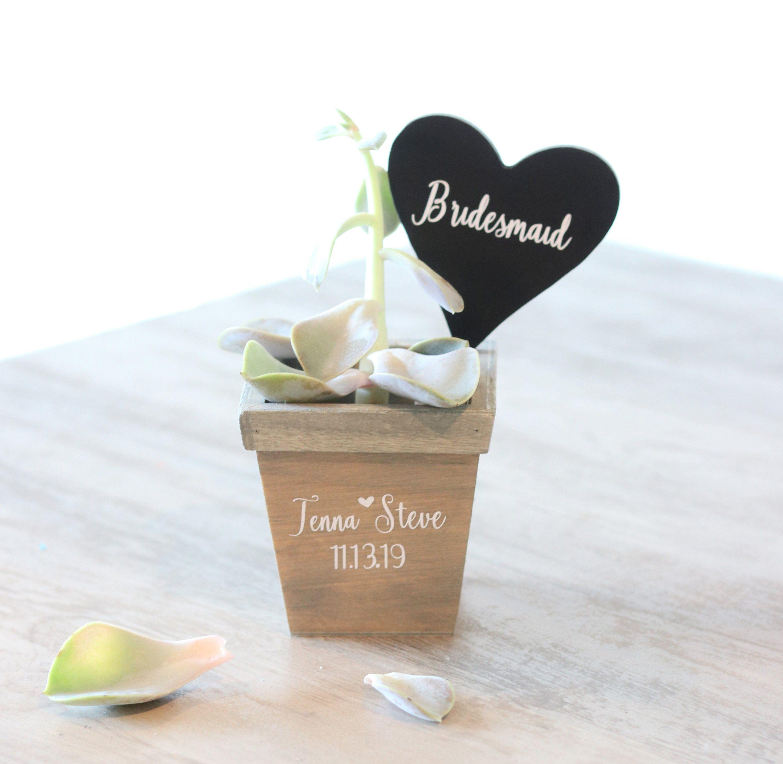 Bridesmaid Gift , Bridesmaid Proposal , Wedding Succulents