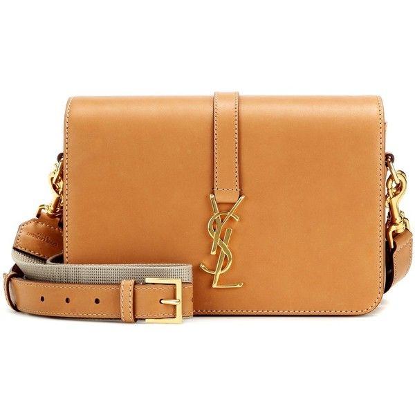 8d92cb2b843b Saint Laurent Monogram Université Medium Leather Shoulder Bag ...