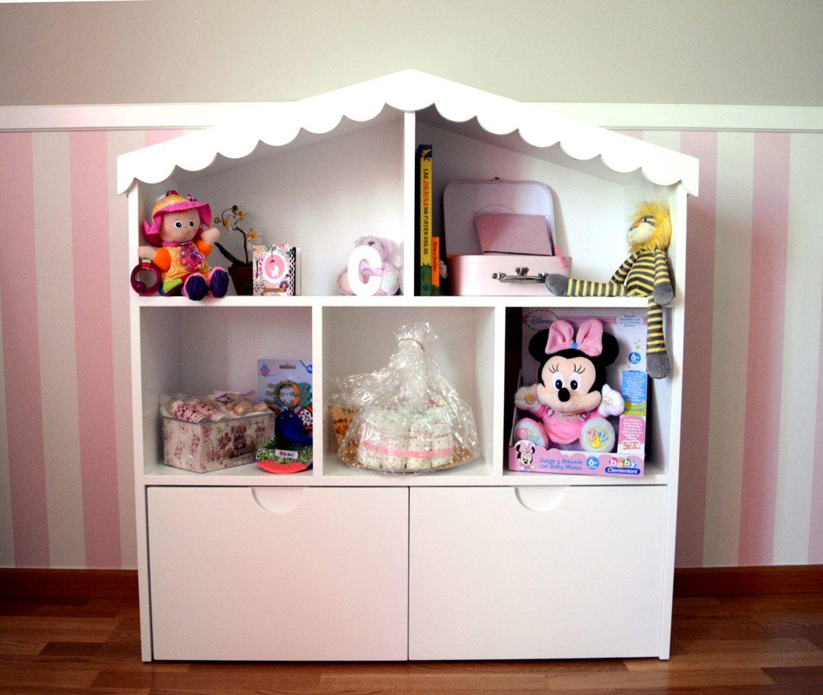El juguetero casita romántico es una bonita pieza de mobiliario ...