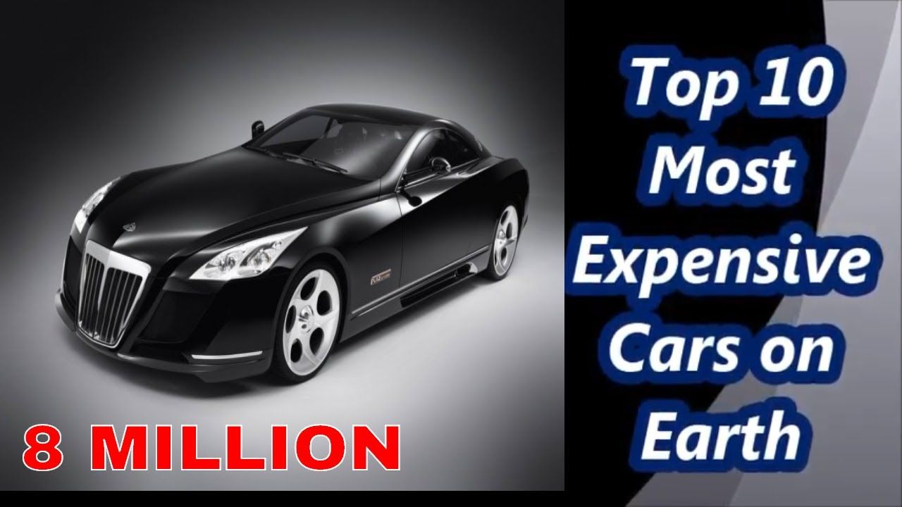 Top 10 Most Expensive Cars on Earth//10 सबसे महंगे ...