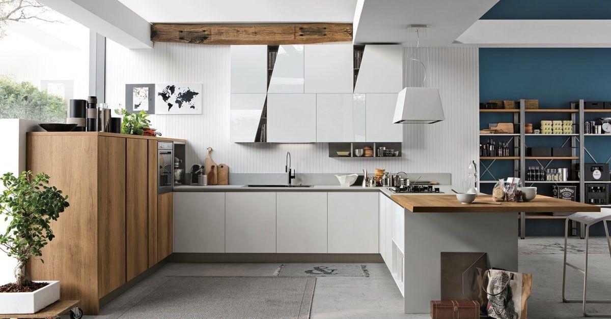 I modelli di cucine moderne Infinity/arredomania sono progettati per ...