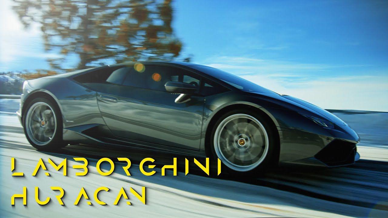 Lamborghini Huracan Snow Mountain Run 4k Lamborghini Huracan Lamborghini Snow Mountain