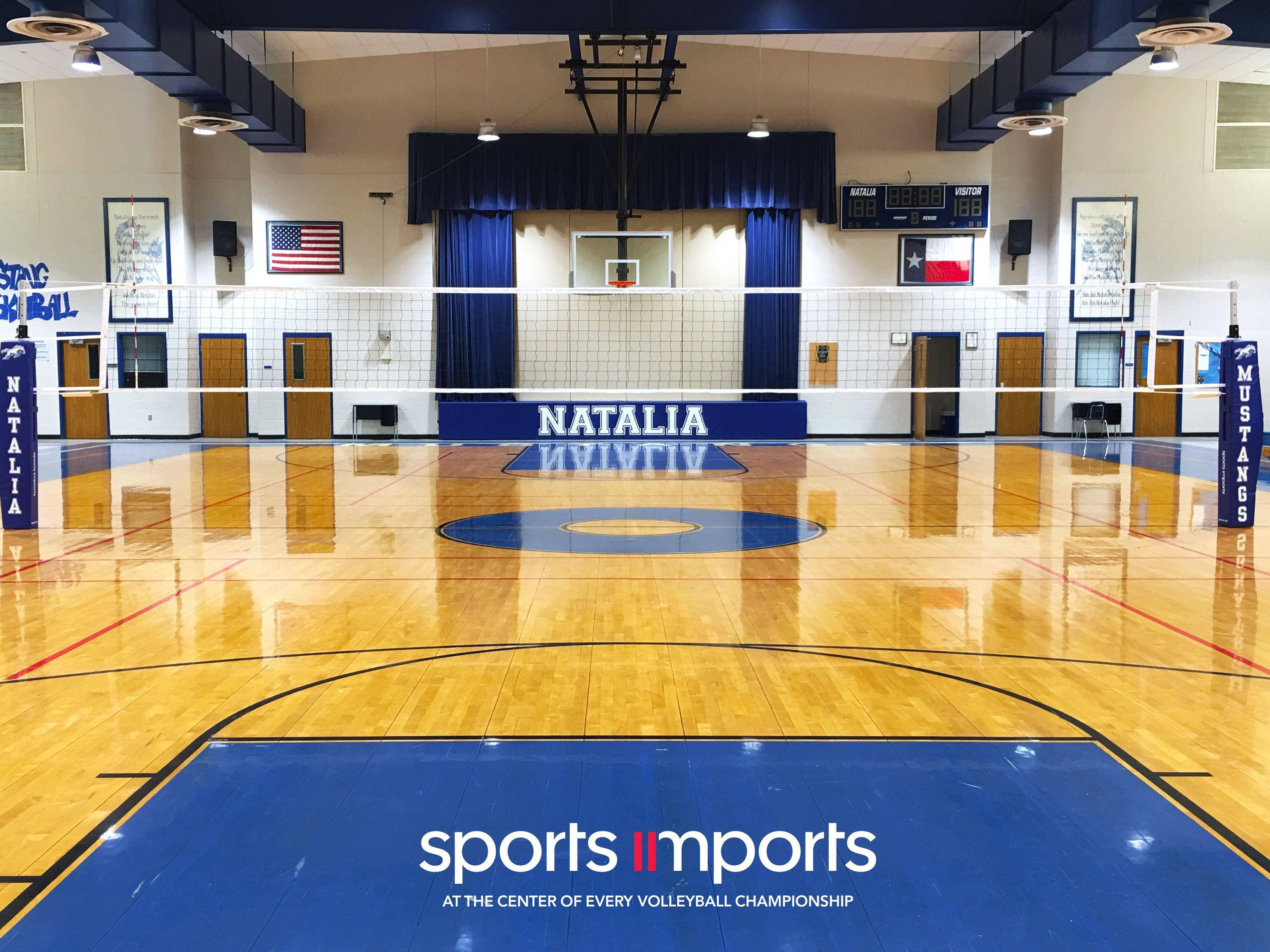 Natalia High School Carbon Volleyball Net System Volleyball Net Outdoor Volleyball Net Volleyball
