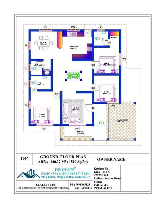 Pin By Iwan On Nalukettu Budget House Plans Square House Plans Bungalow Floor Plans