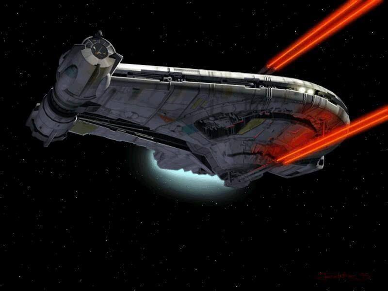 Corellian YT-2400 Outrider