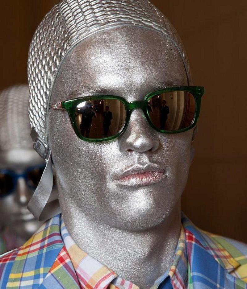 a7512e9bd9cc Thom Browne Sunglasses Spring 2013 Menswear | Sunglasses Shop 2013 ...