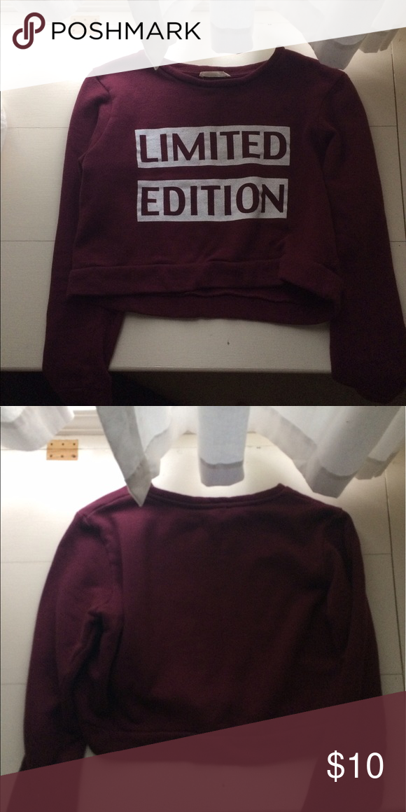 Limited edition f21 maroon crop top Limited edition f21 maroon crop top Forever 21 Tops Crop Tops