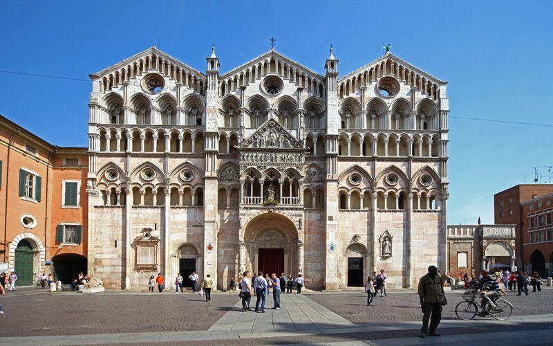 Ferrara, the Duomo