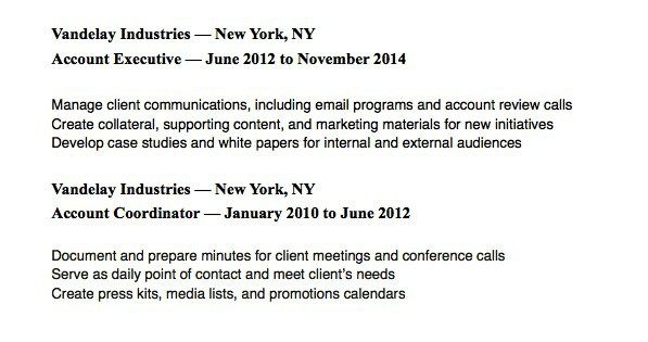 Resume Examples How To Format Your Promotions Resume Examples Email Programs Resume