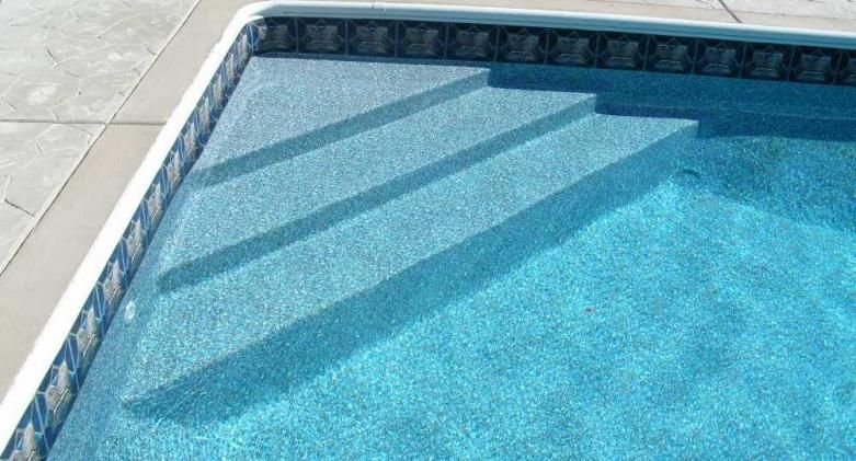 Pool Liner Designs For Inground Pools lori swimming pool tile design liner small size Extraordinary Swimming Pool Liners Created In Artistic Designs Edge Stairs Grey Floor Swimming Pool Liners