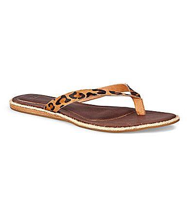b6a5caed1 UGG Australia Allaria LeopardPrint Sandals  Dillards Leopard Sandals