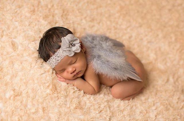Neugeborenen angel wings foto requisiten baby stirnbänder new neugeborenen fotografie requisiten zubehör atrezzo fotografia recien