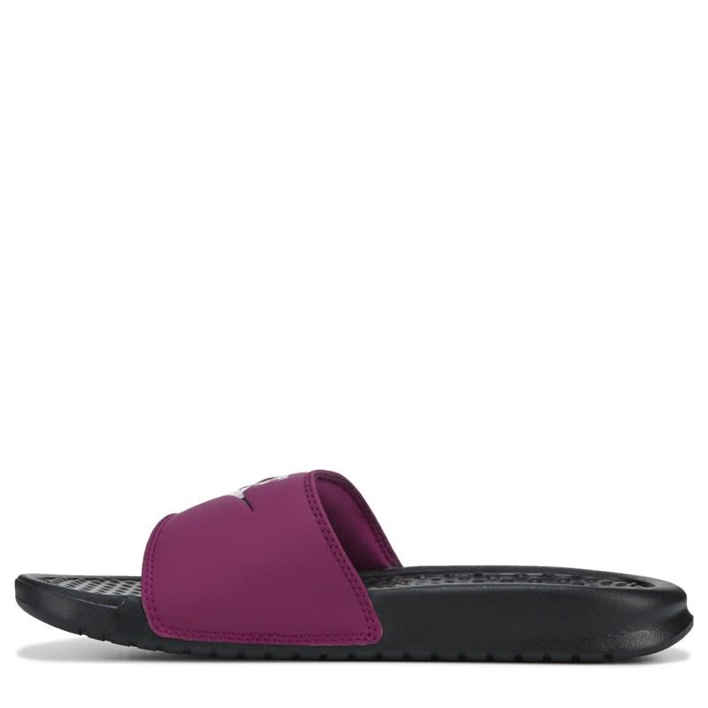 382639f59 Nike Women s Benassi JDI Slide Sandals (True Berry)