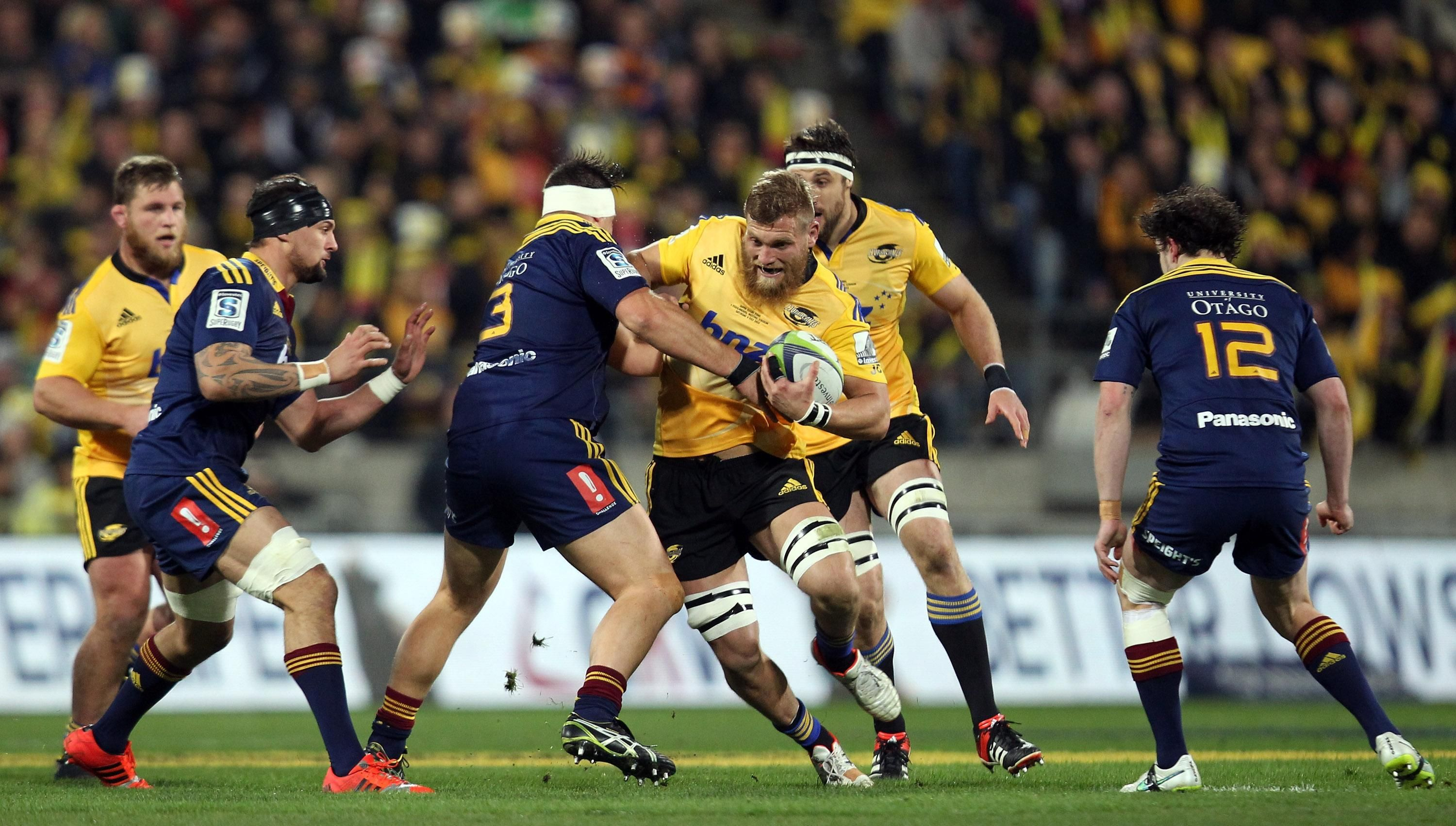 Super rugby 2015, final between hurricanes v highlanders