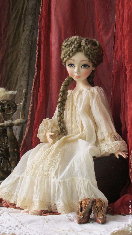 Куклы и игрушки ручной работы. Варвара-краса, длинная коса ...