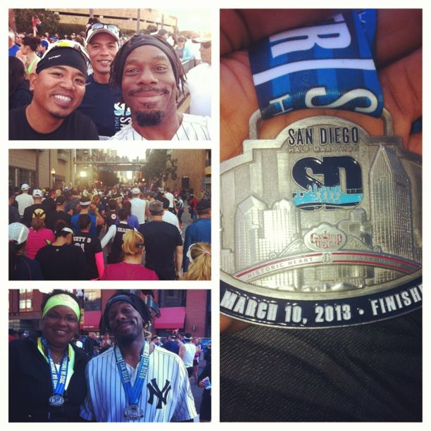 @SDHalf #Marathon on March 10, 2013 (thank you #picstitch) #13in2013