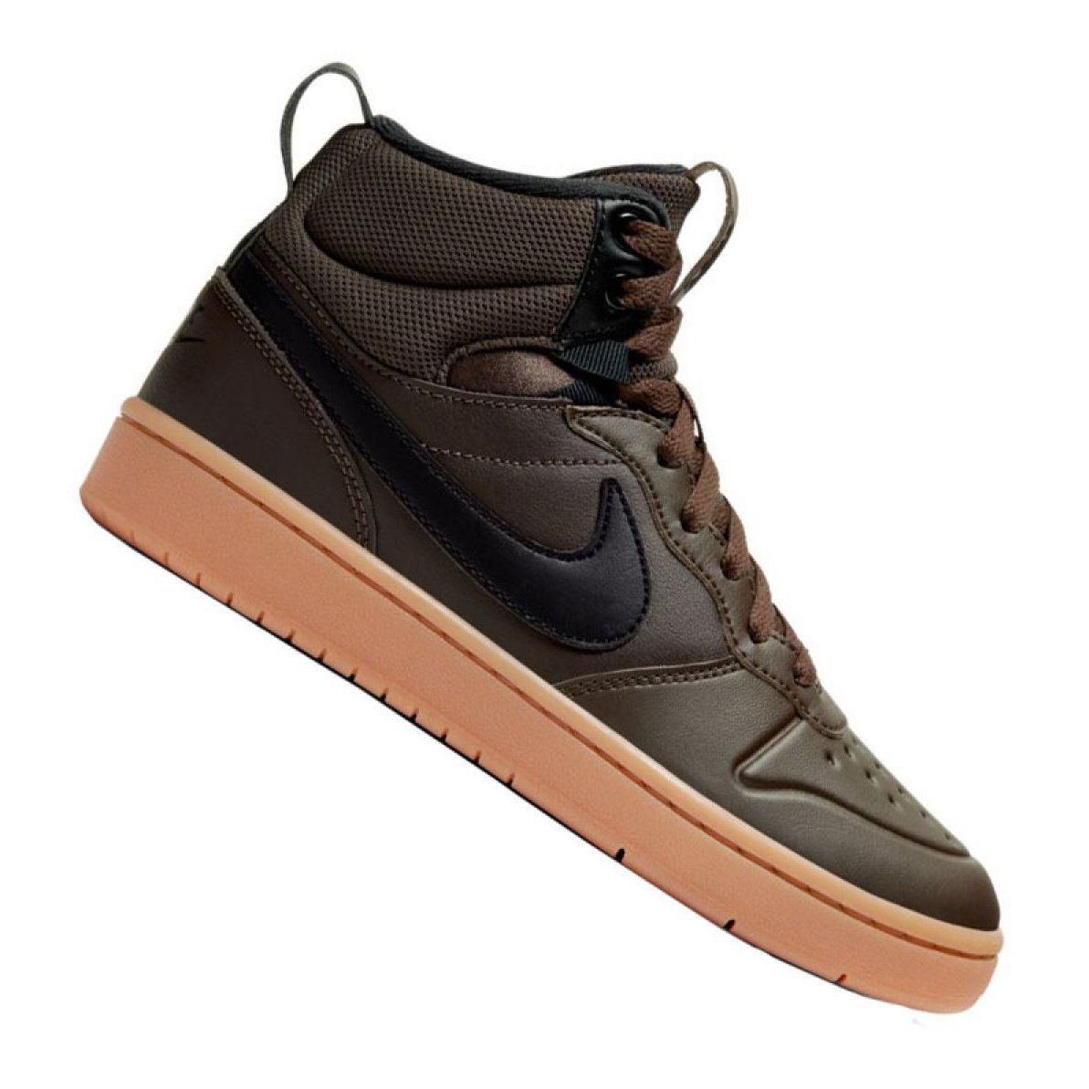 Buty Nike Court Borough Mid 2 Boot Gs Jr Bq5440 200 Czarne Black Shoes Junior Shoes Nike