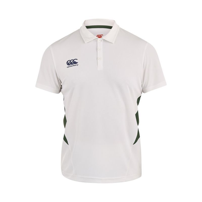 1b5254fc41ae Canterbury Core Cricket Shirt - Senior - White Green - Medium ...
