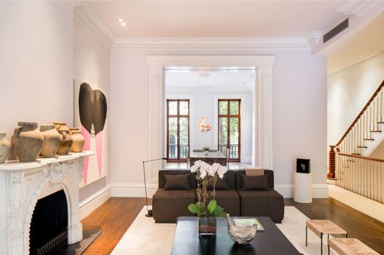 The Only Source For Fashion Style And Beauty Vogue Australia Home Sarah Jessica Parker Celebrity Houses