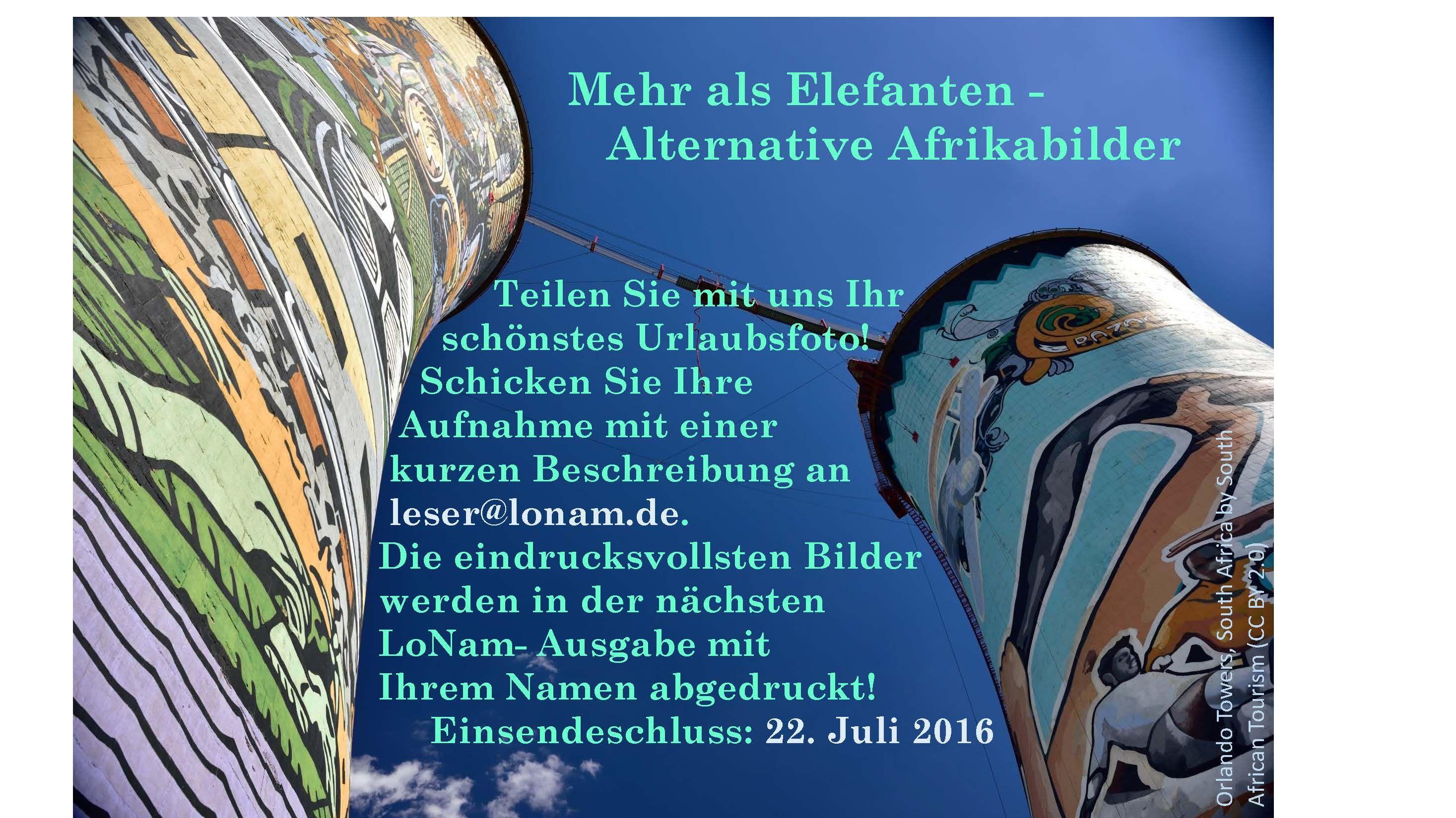 Mehr als Elefanten – Alternative Afrikabilder | LoNam