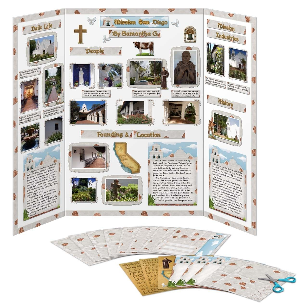 California Missions Project Kit