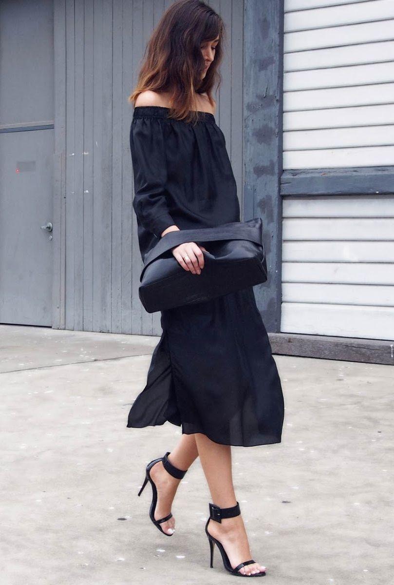 all black. #streetstyle