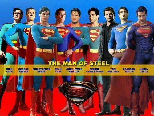 La evolución de Superman