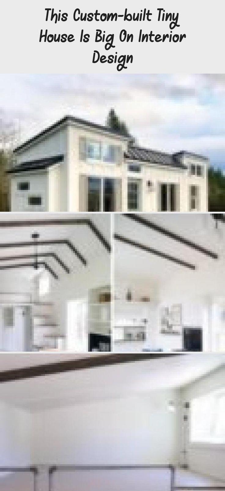 #designerinterior  #interiordesignKitchen  #interiordesignForSmallSpaces  #Frenchinteriordesign  #interiordesignArt  #interiordesignFurniture #custom-built #tiny  This custom-built tiny house is big on interior design