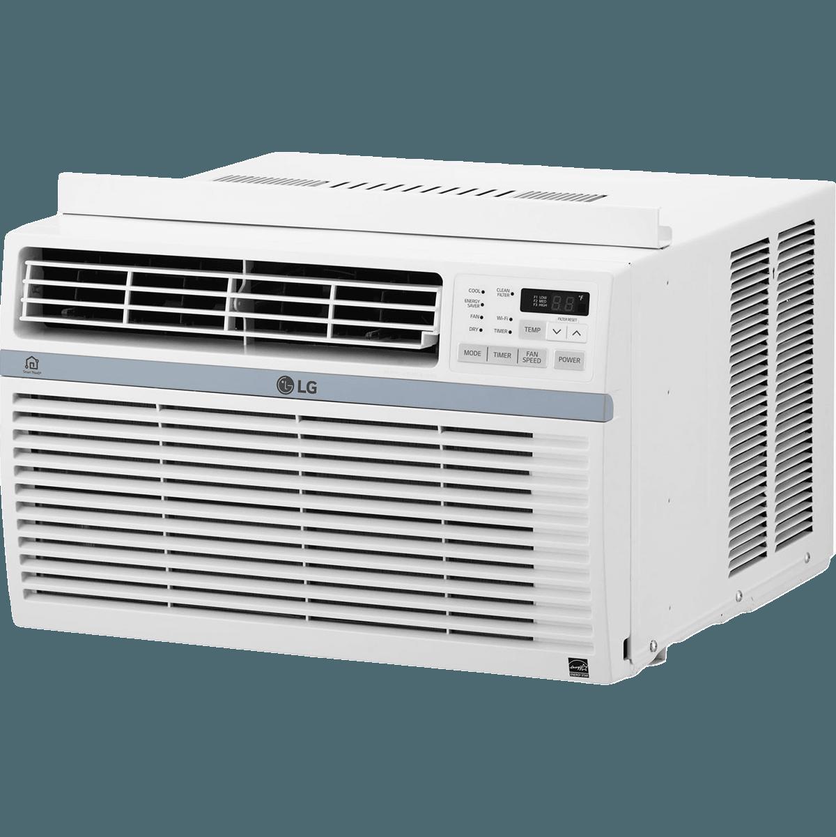 LG 8,000 BTU Window AC w/ WiFi Controls (With images
