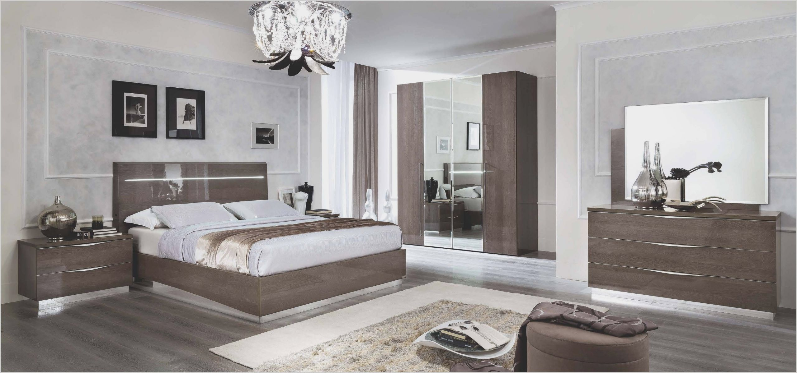 Modern Italian High Gloss Bedroom Furniture  Contemporary bedroom