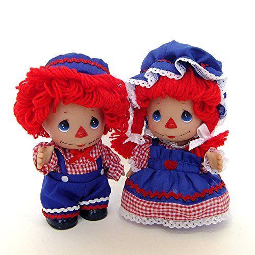 Amazon.com: Precious Moments Dolls - True Blue Raggedy Ann #5203: Toys & Games