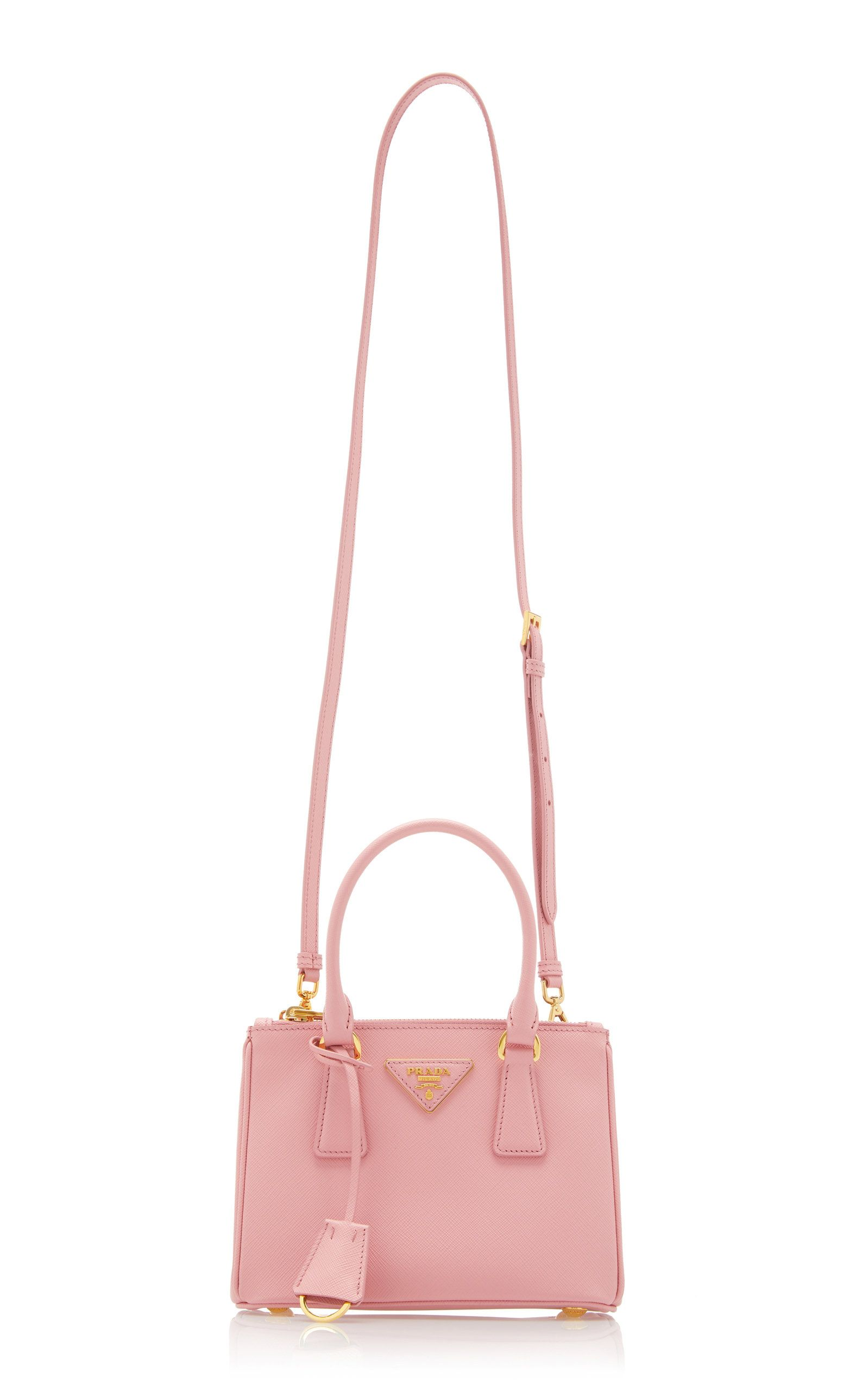Photo of Prada Small Textured-Leather Tote