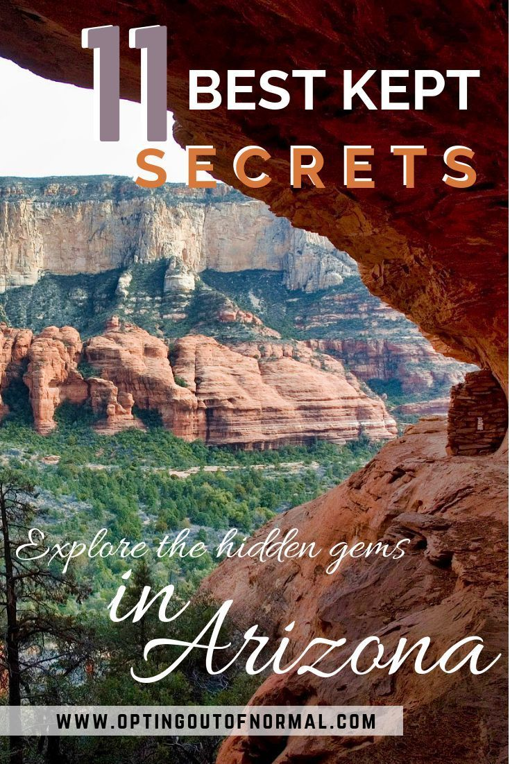 Off the Beaten Path in Arizona. Unique and Hidden Places to Visit. - Opting Out of Normal #travelnorthamerica