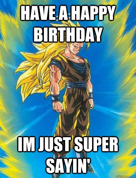 Happy Birthday Dbz : happy, birthday, Official, Happy, Birthday, Thread, DragonBall, Figures, Gashapons, Collectibles, Forum, Dragon, DB…, Anime, Ball,, Super,
