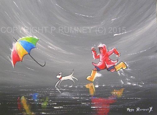 Pete Rumney Fine Art Original Oil Acrylic Painting New