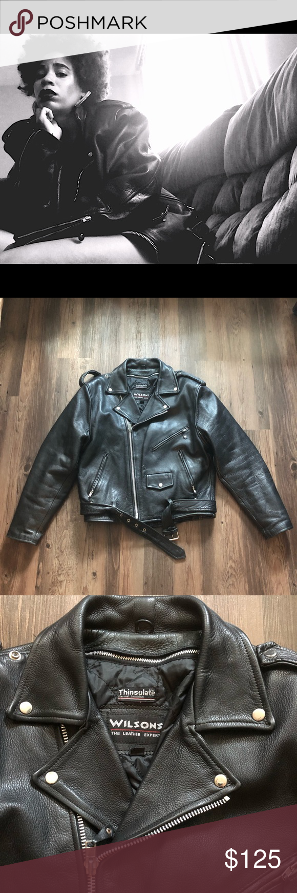 VINTAGE WILSONS LEATHER JACKET 🖤 Wilsons leather