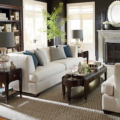 Fabric Sofas And Couches Bassett Furniture Living Room Luxury